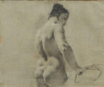 Giovanni Battista PIAZZETTA (Venise 1682-1754) Recto: Jeune garçon en buste Verso:...