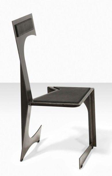 FRANCESCO MARINO DI TEANA (1920 - 2012) Mobilier Architectural, 1956 Bureau Architectural,...