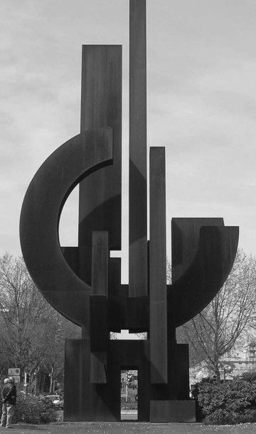 FRANCESCO MARINO DI TEANA (1920 - 2012) Liberté, 1988 Acier patiné Signé du monogramme...