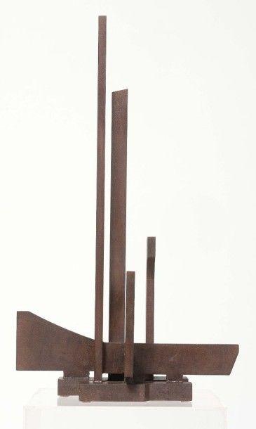 FRANCESCO MARINO DI TEANA (1920 - 2012) Structure architecturale «Hommage à Niccolo...