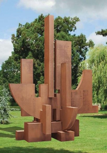 FRANCESCO MARINO DI TEANA (1920 - 2012) Hommage à la Saare «Saarbrücken» (Hommage...