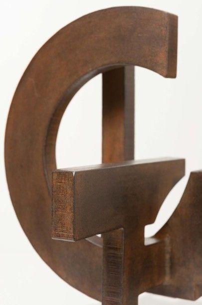 """FRANCESCO MARINO DI TEANA (1920 - 2012) Cercle désintégré en action """"Ouverture de..."""