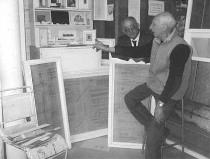 FRANCESCO MARINO DI TEANA (1920 - 2012) Le zéro créateur infini, 2003 Encre sur papier...