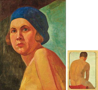 ÉCOLE RUSSE DÉBUT DU XXE SIÈCLE VERS 1925-1930