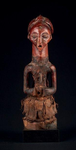STATUETTE «FÉTICHE». Songy-Luba, R.D. Congo....