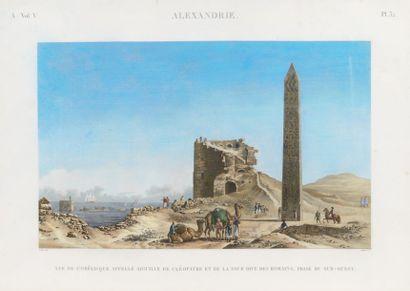 CÉCILE (DELINEAVIT) & BALTARD (SCULPSIT) Description de l'Égypte: ALEXANDRIE. Vue...
