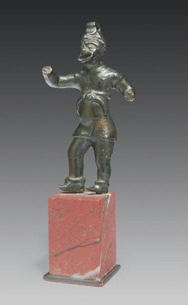 STATUETTE DE COMÉDIEN. Statuette représentant...