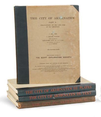 PEET T. E., WOOLLEY C. L., FRANKFORT H. & PENDLEBURY J. D. S.