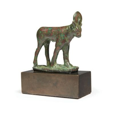 STATUETTE DE TAUREAU APIS. Statuette votive...