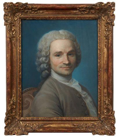 ATTRIBUÉ À MAURICE QUENTIN DE LA TOUR (1704 - 1788)
