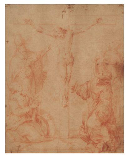 ÉCOLE SIENNOISE DU DÉBUT DU XVIIE SIÈCLE ANCIENNE ATTRIBUTION À FRANCESCO VANNI (1564-1610)