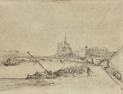 STANISLAS VICTOR EDOUARD LEPINE (CAEN 1835 - PARIS 1892)