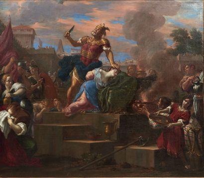 ATTRIBUÉ À THOMAS BLANCHET (1614 - 1689)