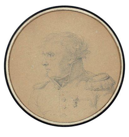 ATTRIBUÉ À JEAN AUGUSTE DOMINIQUE INGRES (MONTAUBAN 1780 - PARIS 1867)