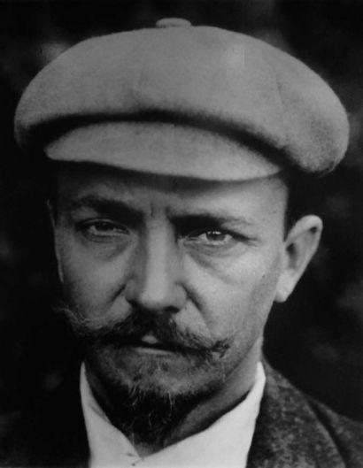 FÉLIX EDOUARD VALLOTTON (1865-1925) La baigneuse rose, 1893-1895 Détrempe sur carton....