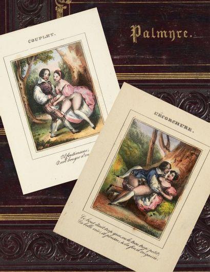 CURIOSA: Album de dessins et de lithographies...