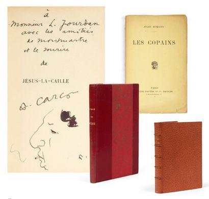 LITTÉRATURE: Ensemble de 6 volumes reliés:...