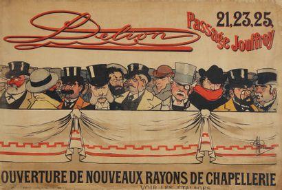 D'APRÈS ALBERT GUILLAUME Dellion, 1896