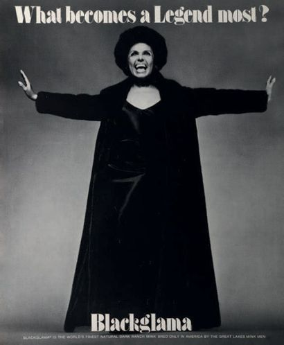 WHAT BECOMES A LEGEND MOST? Lena Horne, 1969...