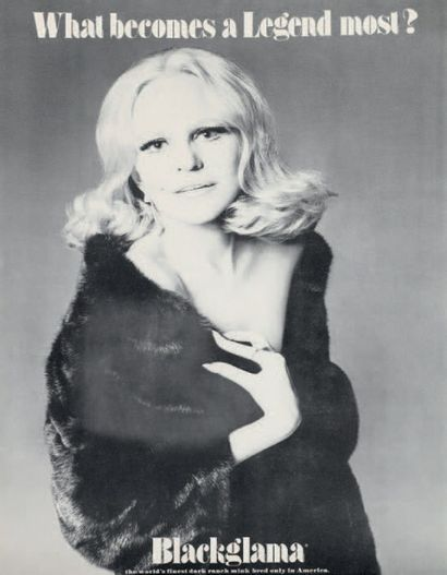WHAT BECOMES A LEGEND MOST? Peggy Lee, 1973...