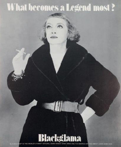 WHAT BECOMES A LEGEND MOST? Bette Davis,...