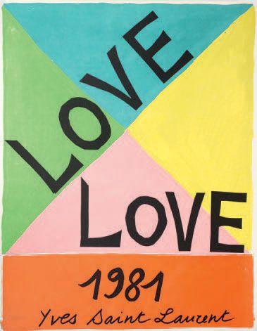 Yves SAINT LAURENT (1936-2008)