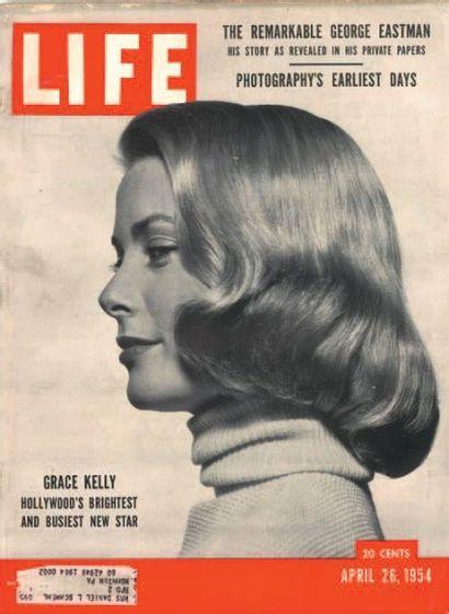 Philippe HALSMAN Jump Series, Grace Kelly, vers 1950 Tirage argentique d'époque....