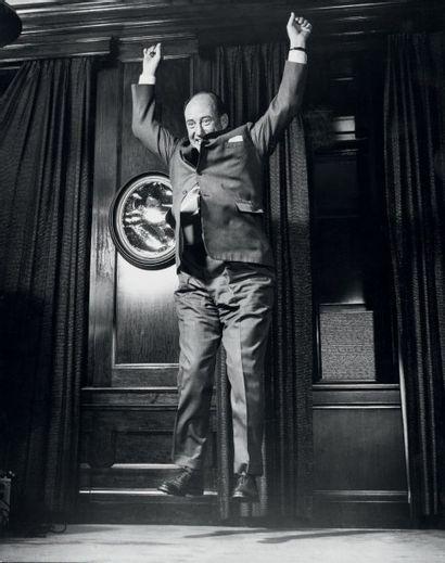 Philippe HALSMAN Jump series, Sir Adlai E. Stevenson, New York, 1959 Tirage argentique...
