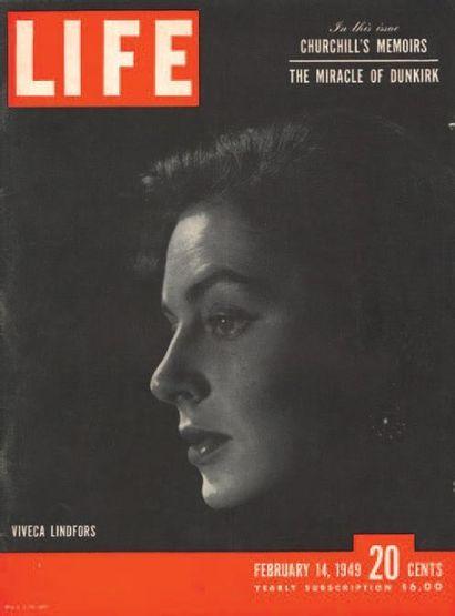 LIFE MAGAZINE Ensemble de LIFE Magazine. Couvertures réalisées par Philippe Halsman....