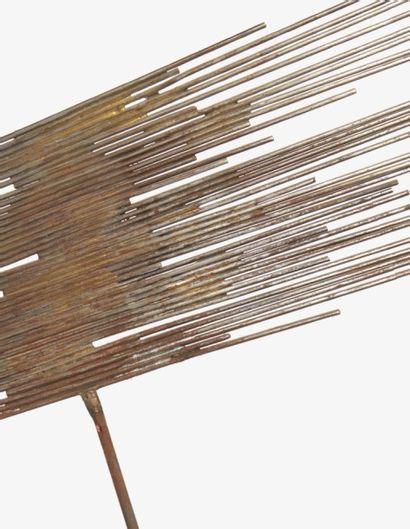 Norbert KRICKE (1922-1986) Sans titre, circa 1955 Pièces unique Sculpture en acier...