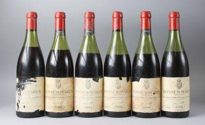 * 6 Bouteilles BONNES MARES Grand Cru - COMTE...