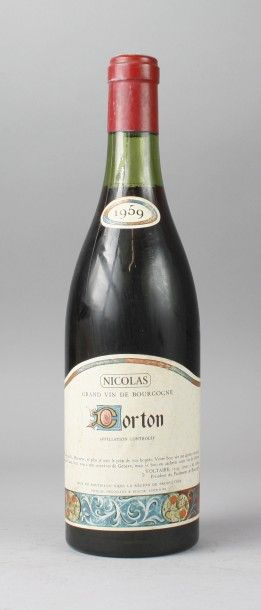 * 1 Bouteille CORTON Grand Cru - NICOLAS...