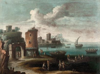 Ecole Génoise du XVIIIe siècle