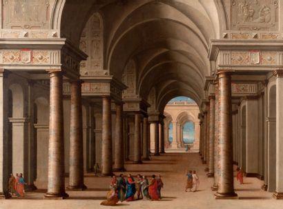 ATTRIBUÉ À JEAN LEMAIRE DIT LEMAIRE-POUSSIN (DAMMARTIN-EN-GOËLE 1598 - GAILLON 1659) ET COLLABORATEU