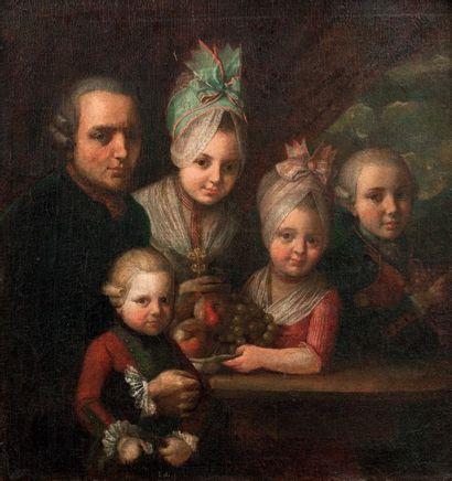ATTRIBUÉ À GUILLAUME-DOMINIQUE DONCRE (ZEGERSCAPPEL 1743 - ARRAS 1820)