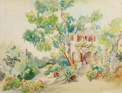 LOUISE-MARIE PEYRE (ALGER 1897-MENTON 1975)