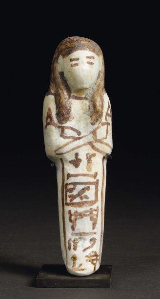 Shaouabti au nom du père divin d'Hathor Med...