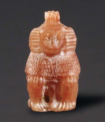 Amulette représentant le dieu Thot sous la...