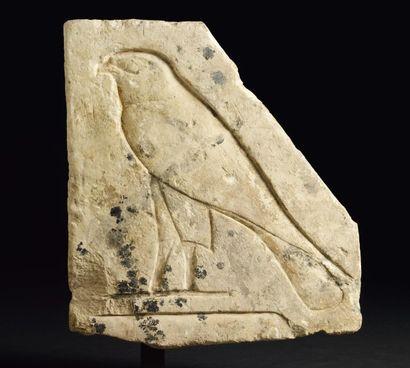 Bas-relief sculpté du signe hiéroglyphique...