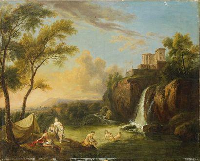 Attribué à Jean-Baptiste Lallemand (1716 - vers 1803)