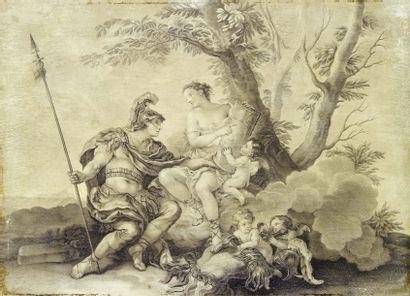 École française du XVIIIe siècle, suiveur de Charles Joseph Natoire
