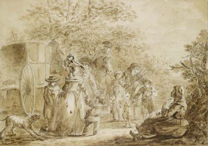 Attribué à Louis Auguste Brun de Versoix (1758 - 1815)