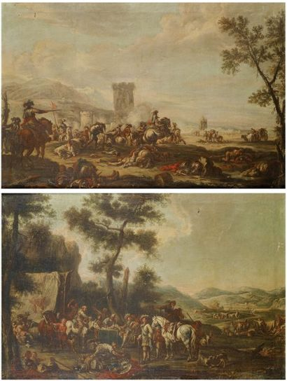 École italienne du XVIIIe siècle, suiveur de Francesco Simonini