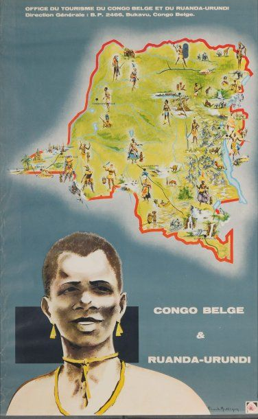 CONGO BELGE ET RUANDA URUNDI Artiste : Mulliqum...