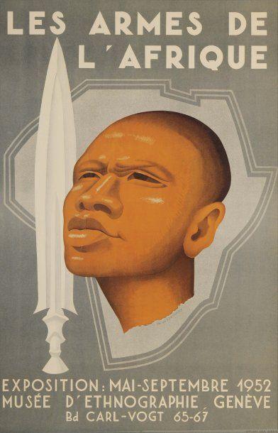 LES ARMES DE L'AFRIQUE Artiste : Ph. De Chastonay...