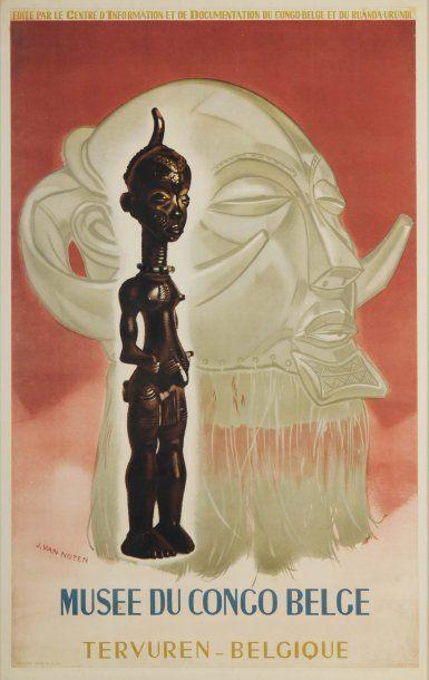 MUSÉE DU CONGO BELGE Artiste : J. Van Noten...