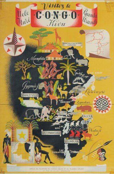 VISITEZ LE CONGO KIVU Artiste : Josse Léonard...