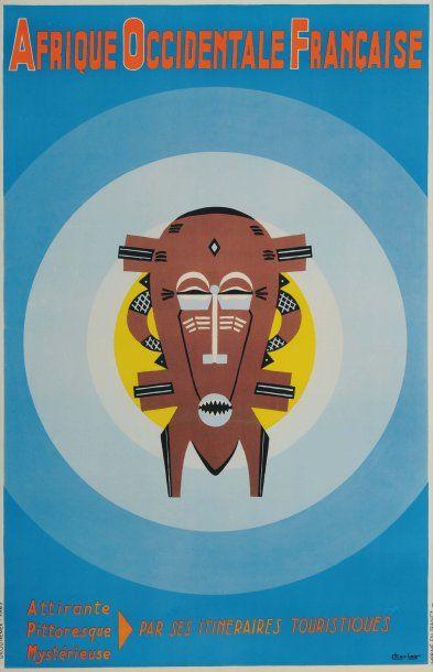 AFRIQUE OCCIDENTALE FRANÇAISE Artiste : Charlas...