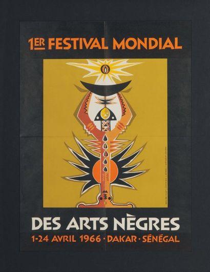 1ER FESTIVAL DES ARTS NÈGRES Artiste : Diouf...