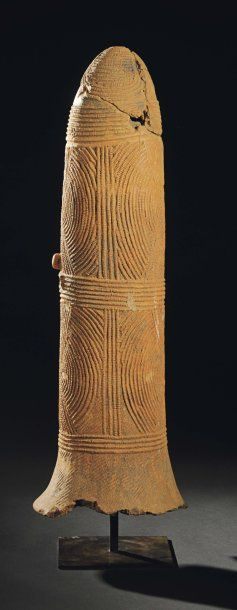 GRANDE TERRE CUITE BURA Niger H_82 cm Ce...